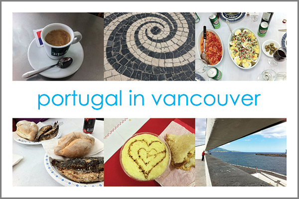 Portugal in Vancouver Postcard