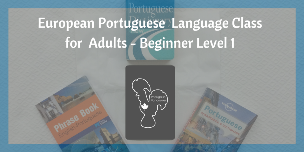 Portuguese Language Class Beginner Level 1