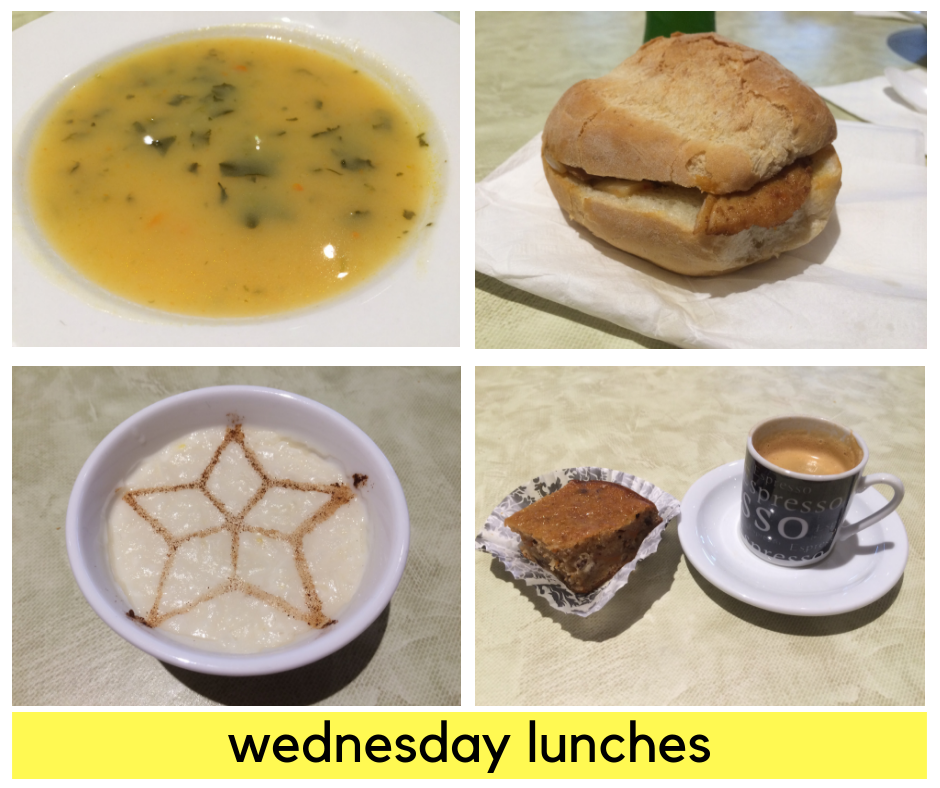 Wednesday Lunches