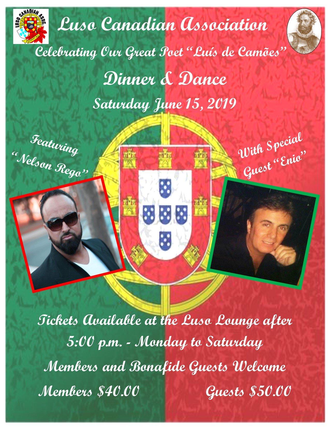 Luso Canadian Association, Luis de Camões Dinner and Dance, Kitimat