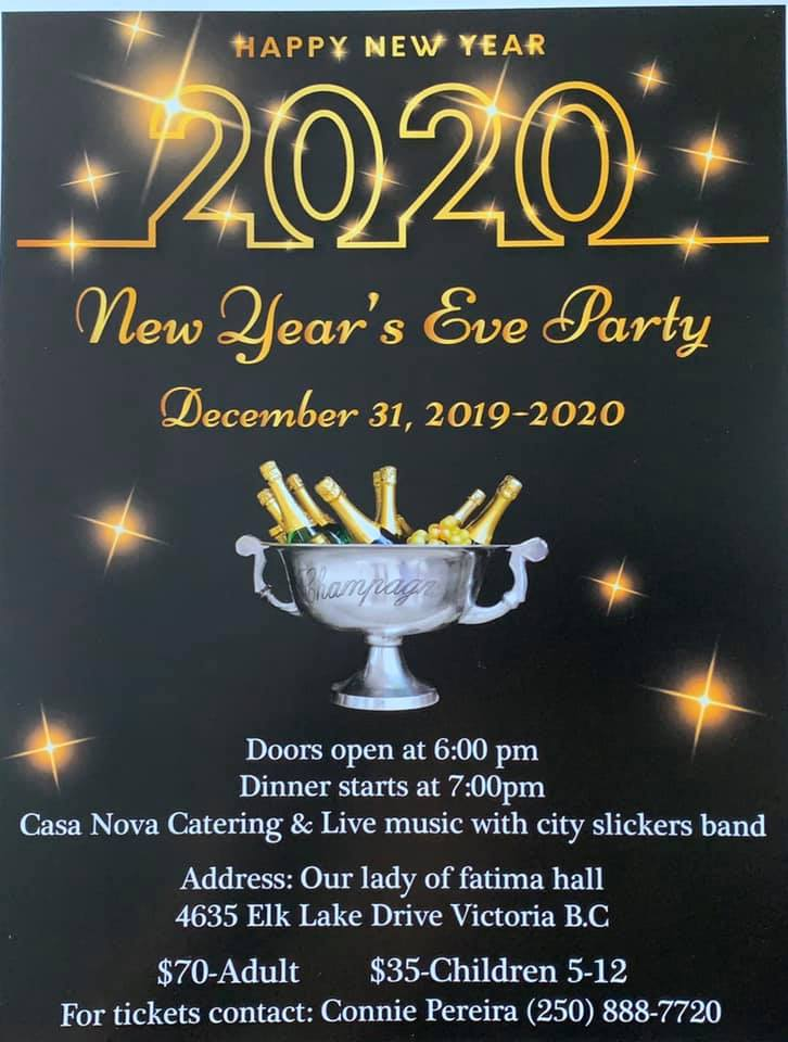 New Year's Eve Party in Victoria