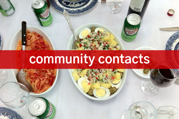 Community Contacts, Community Information