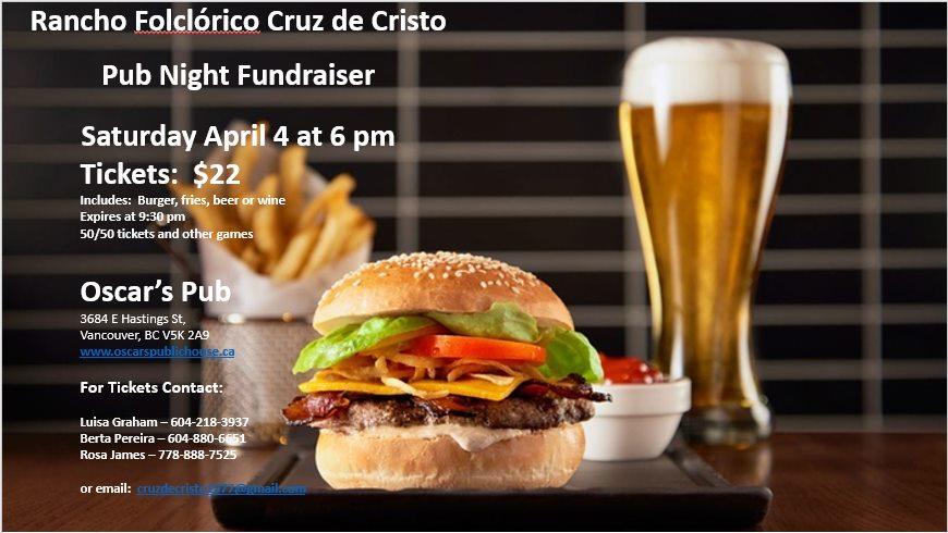 Rancho Folclórico Cruz de Cristo Pub Night